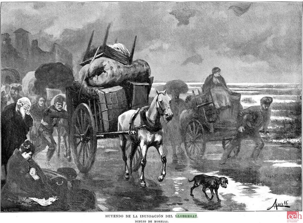 La Ilustración Española y Americana 30 9 1901 inundacio Llobregat
